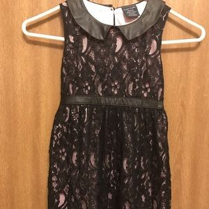 Girl's Black Lace Dress, Size 4-5/small